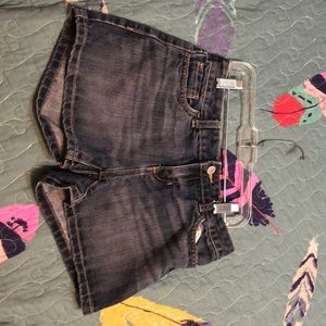 Denim shorts kid size